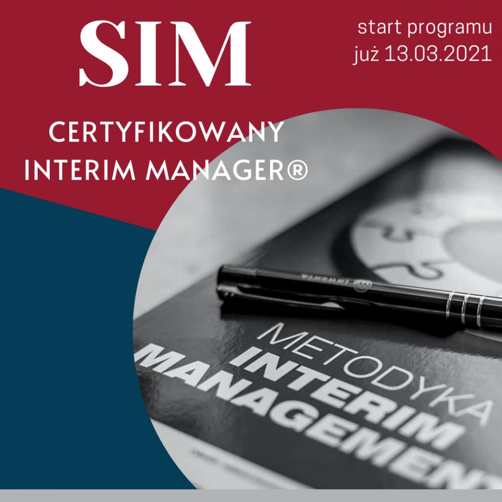 Wiosenna edycja programu SIM certyfikowany interim manager
